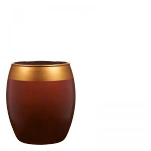 Braxton aspen votive, brown