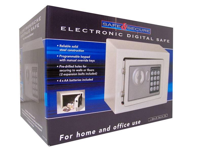 Digitale safe (grijs)