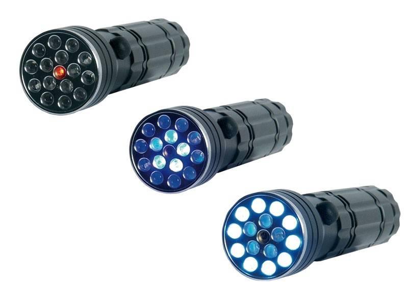 Bruder Mannesmann  LED zaklamp / UV-licht / laserpointer