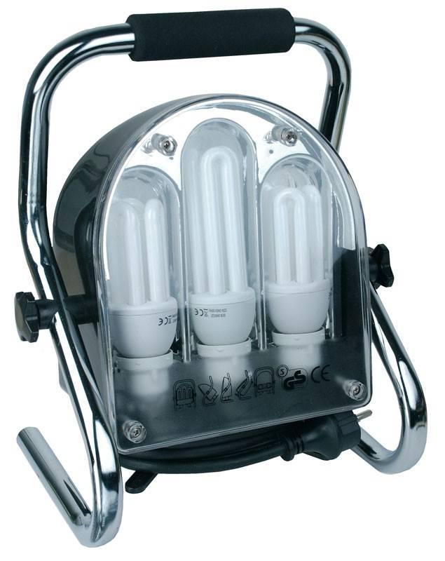 Bruder Mannesmann Energiezuinige werklamp / bouwlamp