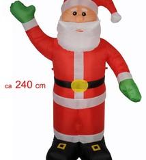 Kerstman 240 cm (opblaasbaar)
