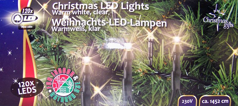 Christmas Gifts Kerstverlichting wit (120 LED's)