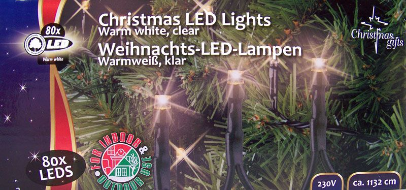 Christmas Gifts Kerstverlichting wit (80 LED's)