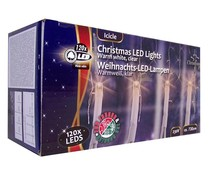 Christmas gifts Kerstverlichting ijspegels wit (120 LED's)