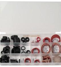 Bruder Mannesmann Assortiment afdichtringen, kraanleertjes (141 dlg) in doos