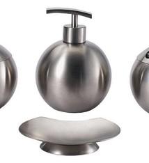 Bergner Roestvrijstalen bad-accessoires set (4 dlg)
