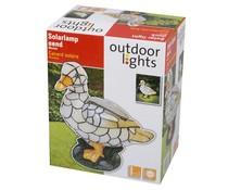 Outdoor Lights LED solarlamp eend mozaiek