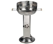 BBQ collection Roestvrijstalen kolom barbecue (met asopvangbak)