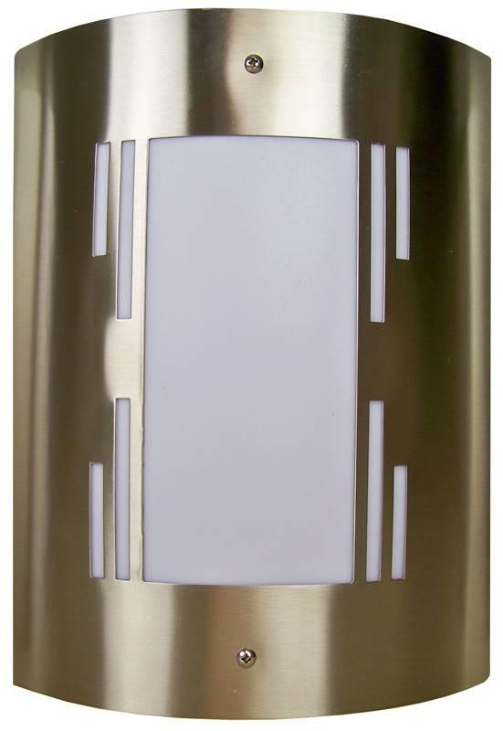 Roestvrijstalen buitenlamp (pe Eight)