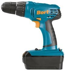 Bort BAB-18Ux2-DK Accu boormachine, 2 accu's (18V)