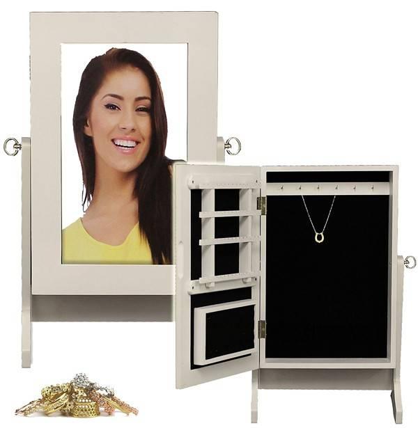 Sieradenkast met spiegel   WebwinkelGigant com