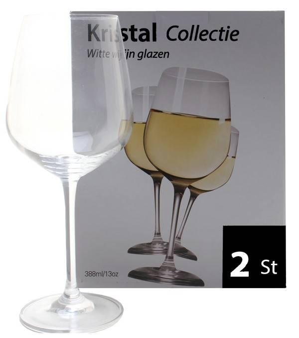 Witte wijn glazen (set van 2)