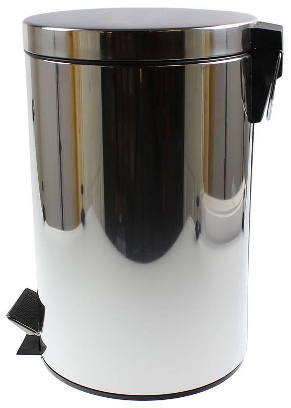 Roestvrijstalen pedaalemmer (12 liter)