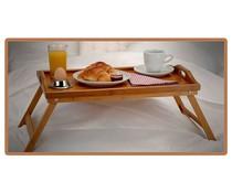 Excellent Houseware Excellent Houseware Bamboe dienblad voor op bed (50x30x24)