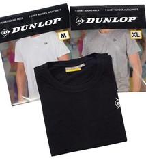 Dunlop 4-Pack T-shirt met ronde hals M 3 kleuren