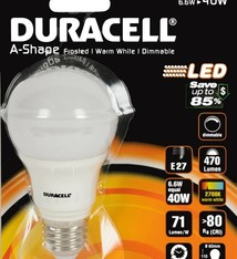 Duracell Dimbare LED-lamp 6,6W (=40W)