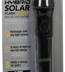 Hybridlight Hybridlight Solar LED zaklamp zwart, 40 Lumen