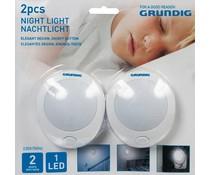 Grundig Grundig Nachtlampen (set van 2 stuks)