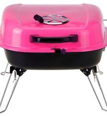 BBQ Tafel barbecue met voorraadrek