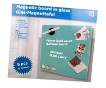 Magnetisch memobord van glas  (groen)