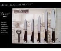 Cuisine Performance Cuisine Teflon keukenmessen (set van 6)