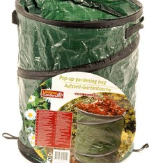 Lifetime Garden Opvouwbare Pop-Up tuinafvalzak, 30 liter