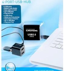 Grundig 4-Poorts USB-Hub