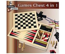 Lifetime Games Spellendoos 4-in-1