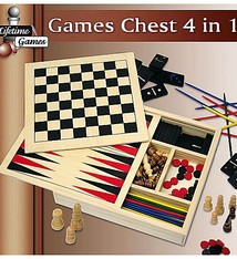 Lifetime Games Spellendoos 4-in-1