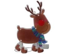 Christmas gifts Kerstfiguur rendier met 10 LED's