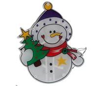 Christmas gifts Kerstfiguur sneeuwpop met 10 LED's