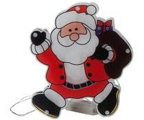 Christmas gifts Kerstfiguur kerstman met 10 LED's