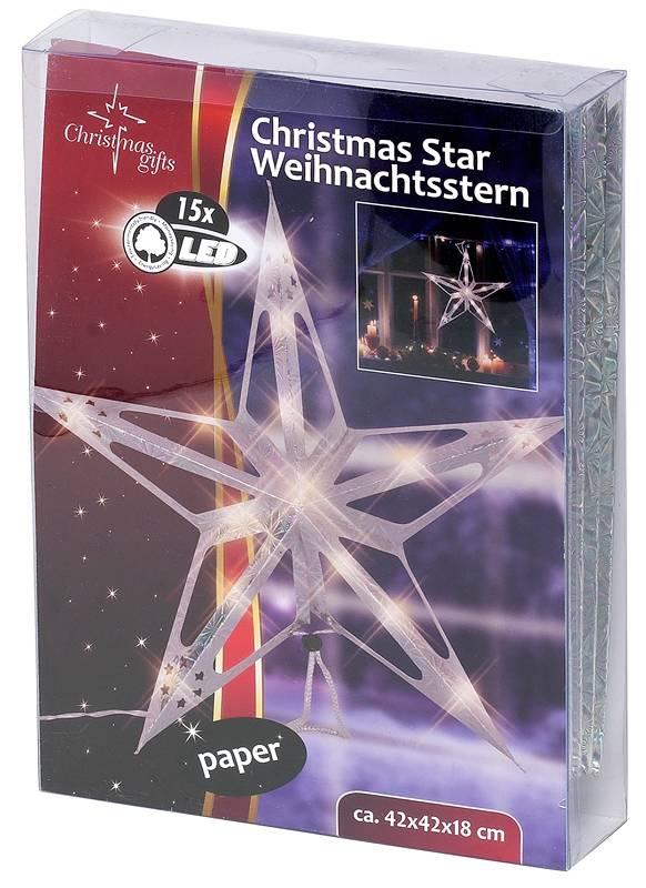 Kerstster 15 LED's