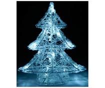Acryl kerstboom  met 16 LED's 25cm