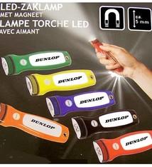 Dunlop Magnetische LED zaklamp, 4 HALEN, 3 BETALEN