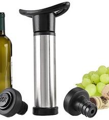Excellent Houseware Wijn vacuum pomp set van 3