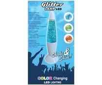 Glitterlamp kleurveranderend 17.5cm