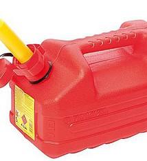 Eda Benzine jerrycan met tuit, 5 liter