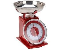 Excellent Houseware Keukenweegschaal 5kg, rood