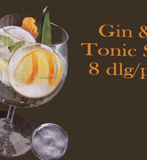 Cuisine Performance Gin en tonic set (8dlg)
