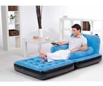 Bestway Sofa, bank en matras, blauw