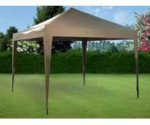 Ambiance Easy up partytent luxe 3x3 meter bruin