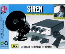 All Ride Sirene met microfoon 12V