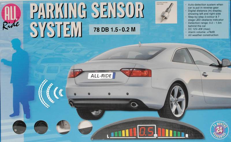 All Ride Parkeersensor-systeem 12V