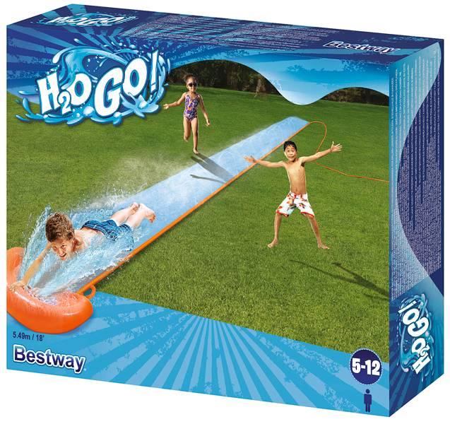 Bestway H2O Go Enkele glijbaan 5.49 meter