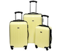 Penn Trolleyset ABS pastel geel (3 dlg)