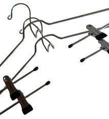 Protenrop Metalen kledinghangers (set van 2)