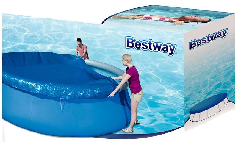 Bestway Afdekzeil voor zwembad met diameter 457cm