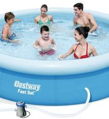 Bestway Familiebad fast set  met pomp 366x76cm