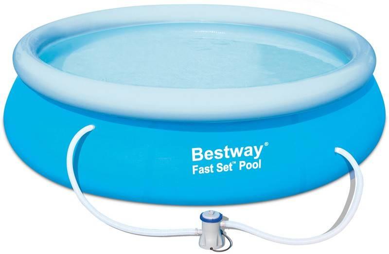 Bestway Familiebad fast set met pomp 305x76cm